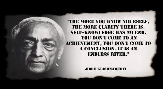 Tự biết mình là không có điểm cuối...