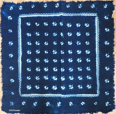 Chinese indigo-dyed cotton