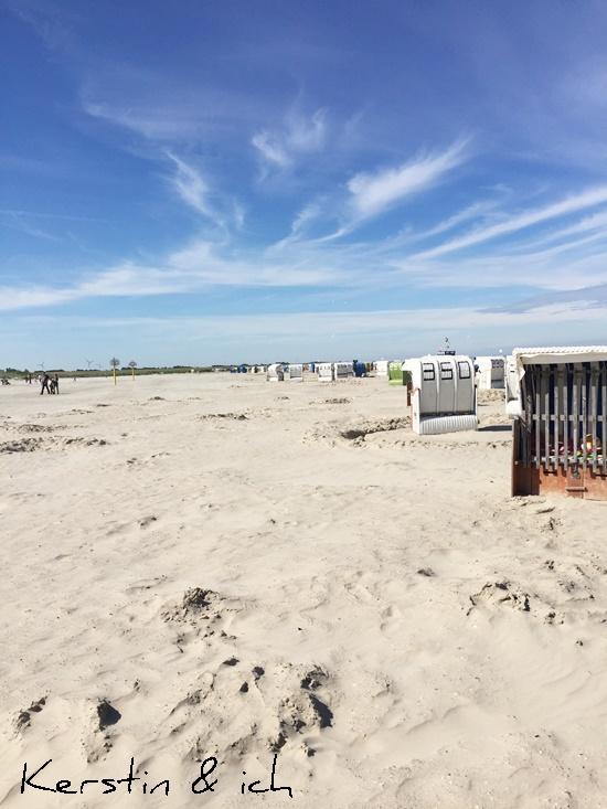 Norddeich Sommer Urlaub Meer Strandkorb