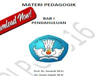 Modul Pedagogik SD Penunjang Bahan Materi PLPG 2017