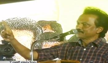 MK Stalin Challenges CM Jayalalithaa for a Public Debate | Thanthi Tv