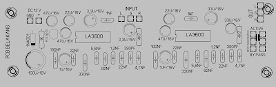 PCB Layout Cara membuat equalizer 10 Chanel Simple