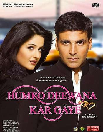 Poster Of Humko Deewana Kar Gaye 2006 Hindi 450MB BRRip 480p Free Download Watch Online