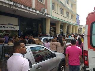 Médico é morto a tiros após reagir a assalto no Centro de Campina Grande