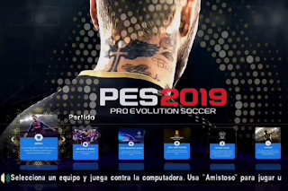 PES 2019 v4 Savedata + Textures Update Transfer PPSSPP