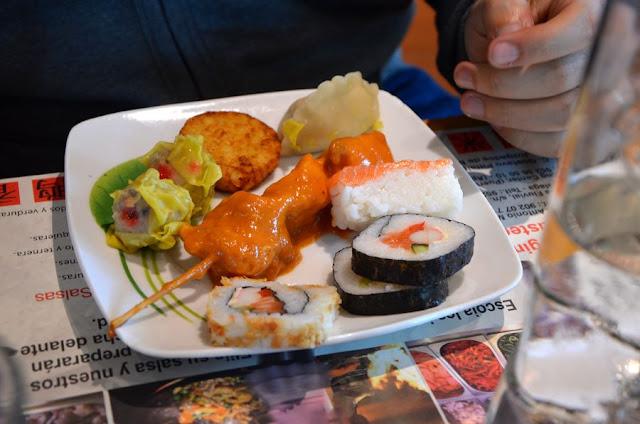 Fuengirola Hiszpania buffet wok