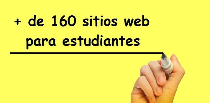 Eres estudiante? Más de 160 sitios web educativos