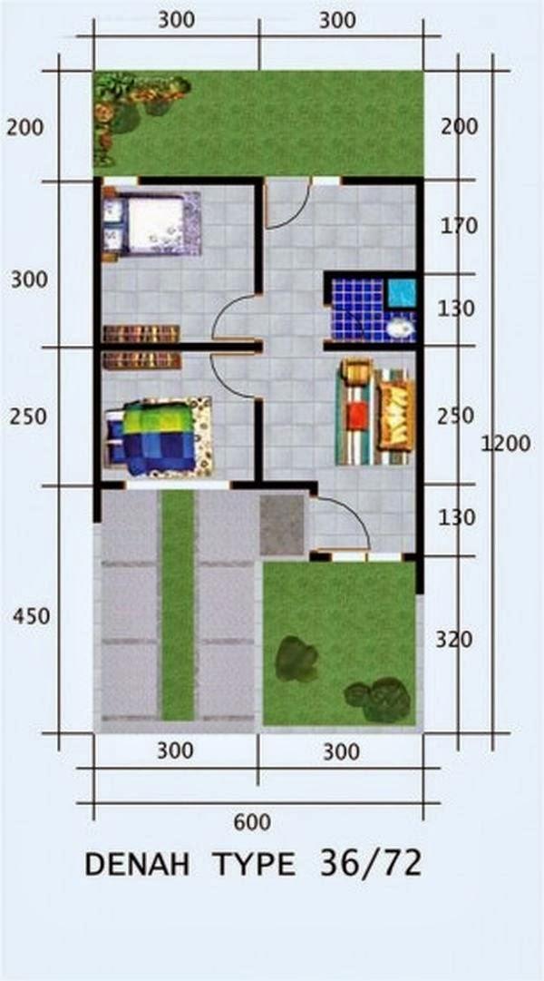 Download image desain rumah minimalis sederhana type 36 gambar pc