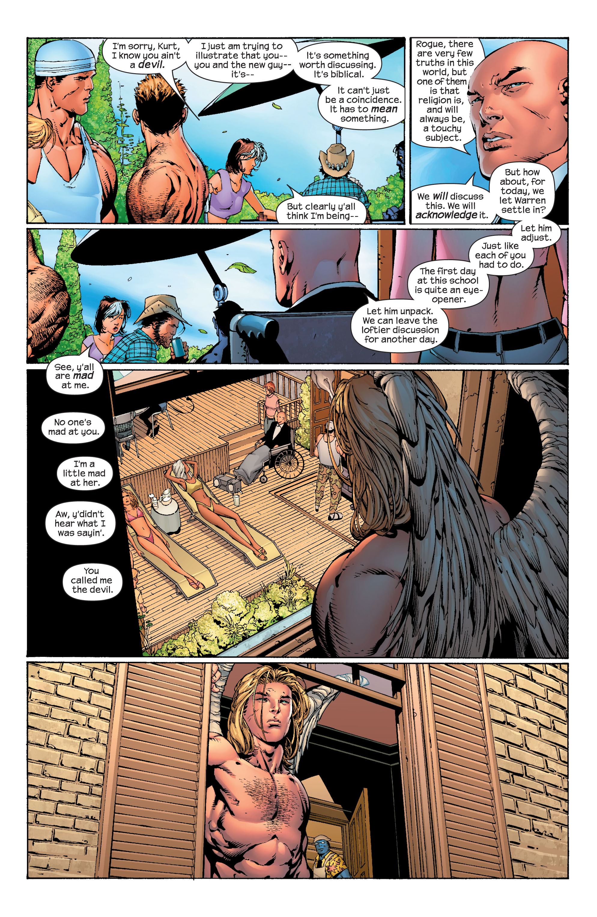 Read online Ultimate X-Men comic -  Issue #40 - 8
