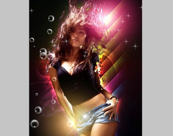 hướng dẫn tạo hiệu ứng ánh sáng đẹp trong photoshop