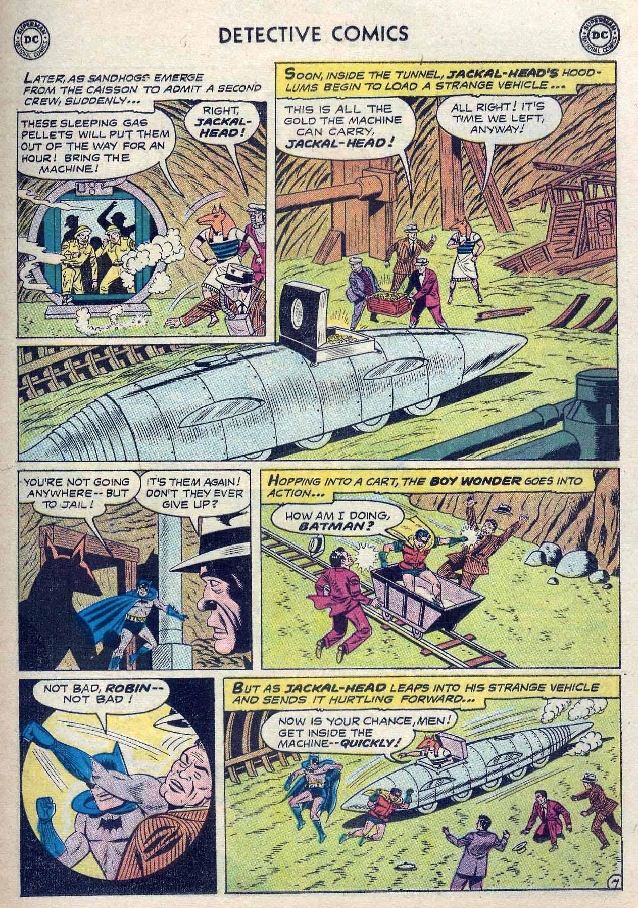 Read online Detective Comics (1937) comic -  Issue #262 - 9