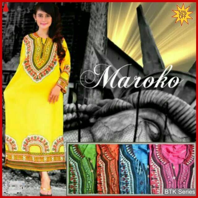 BTK003 Baju Daster Panjang Maroko Dress Longdress Murah BMGShop