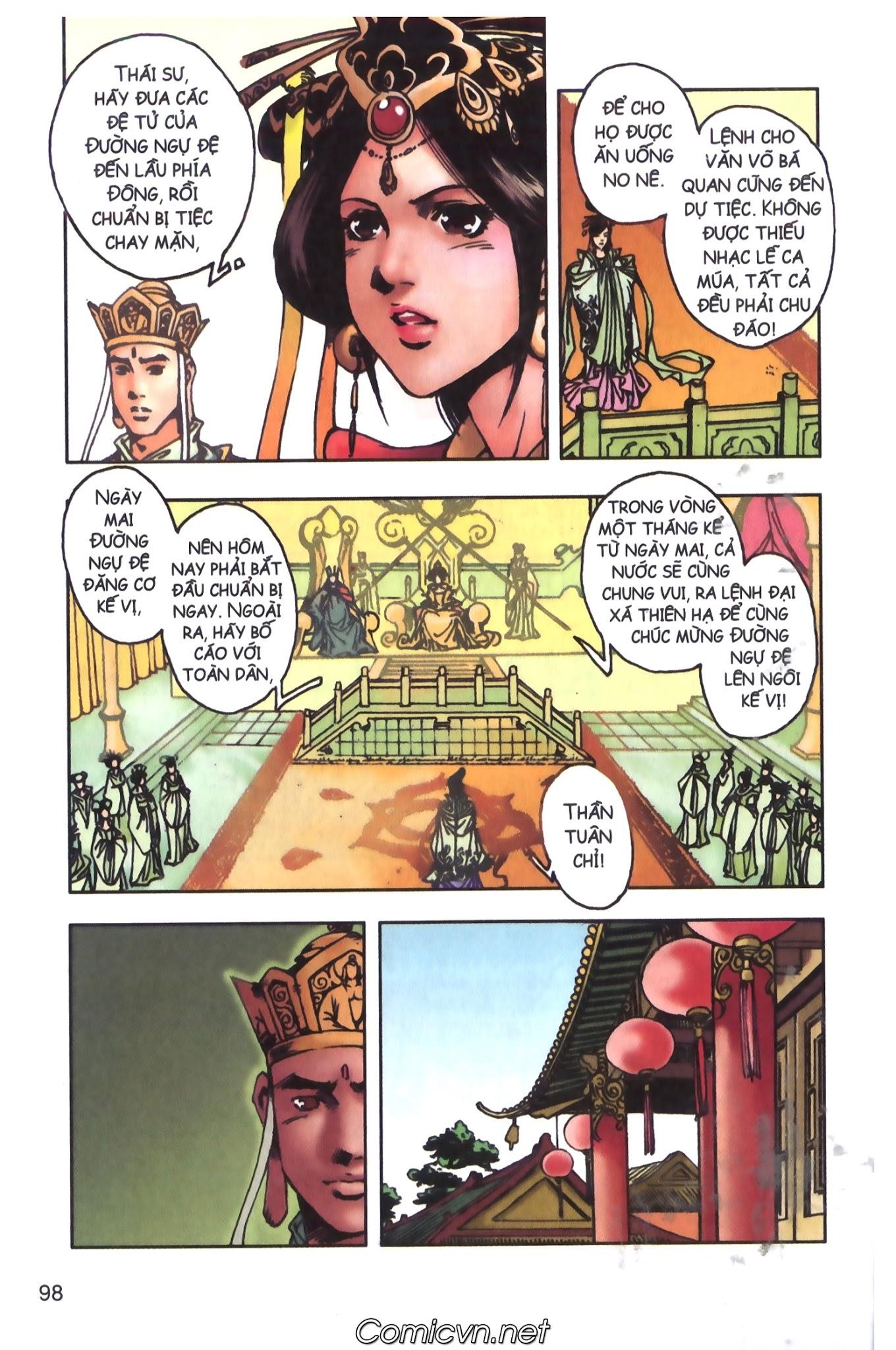 Tây Du Ký màu - Chapter 98 - Pic 28