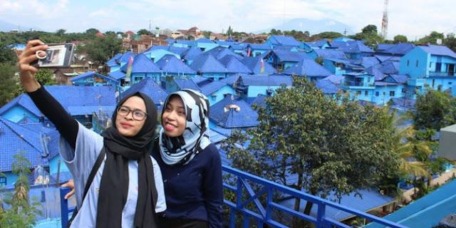 20 Tempat Wisata Malang Kota Terbaru Terfavorit Anti Mainstream Kampung Biru Arema
