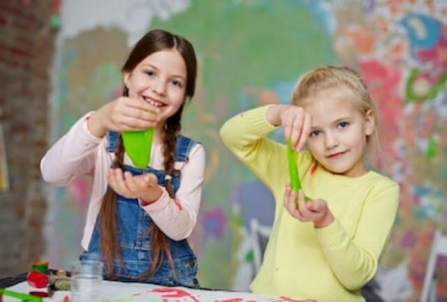 11 Cara Buat Slime Aman Untuk Anak