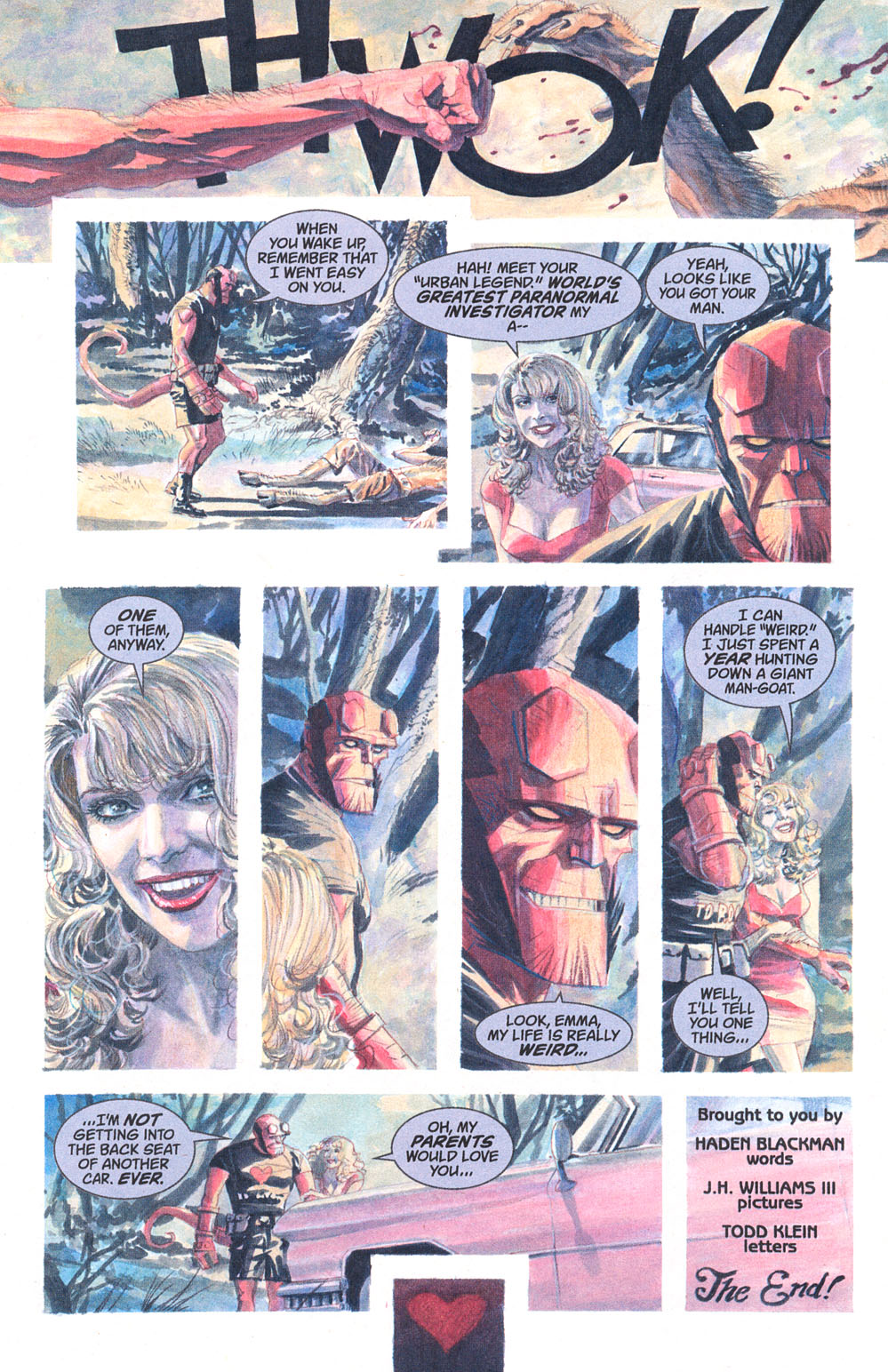 Read online Hellboy: Weird Tales comic -  Issue #5 - 10