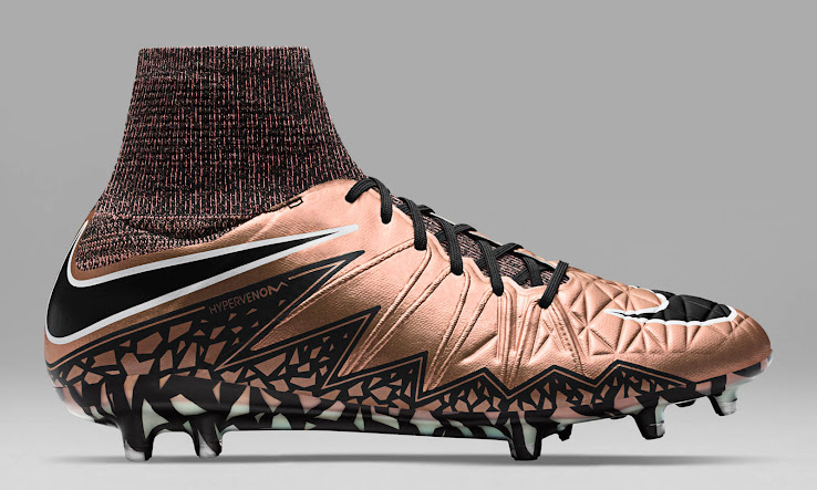 73620b3ed56 Bronze Nike Hypervenom Phantom 2016 Boots Released - Footy Headlines