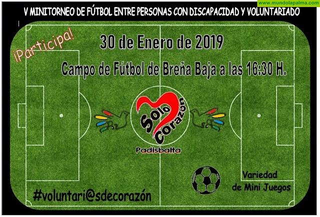 PADISBALTA: V Mini Torneo de Fútbol
