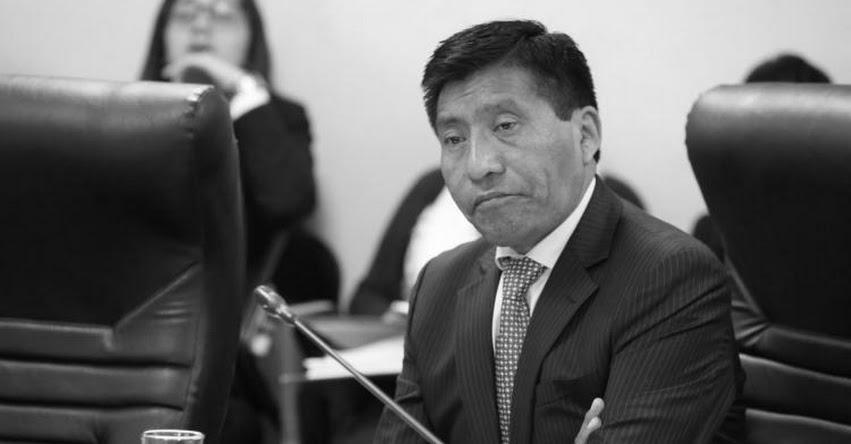 MOISÉS MAMANI: Falleció excongresista Colquehuanca en Lima