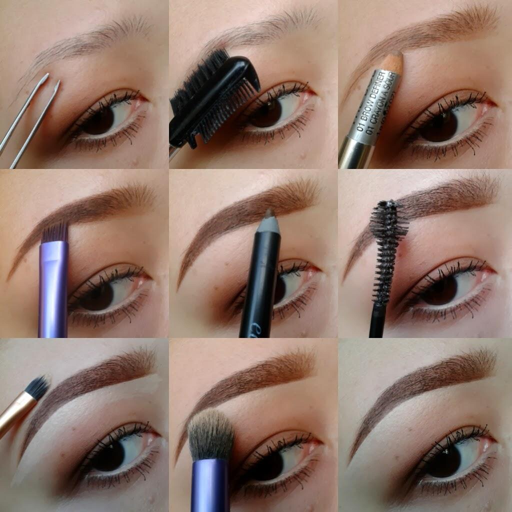 @callmechim: How I fill in my eyebrows