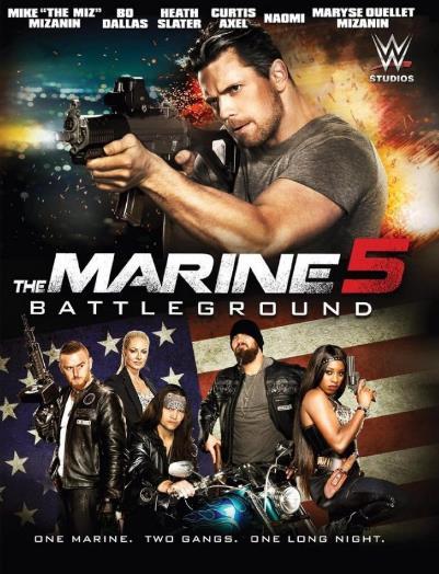 The Marine 5: Battleground (2017) เดอะ มารีน 5: คนคลั่งล่าทะลุสุดขีดนรก