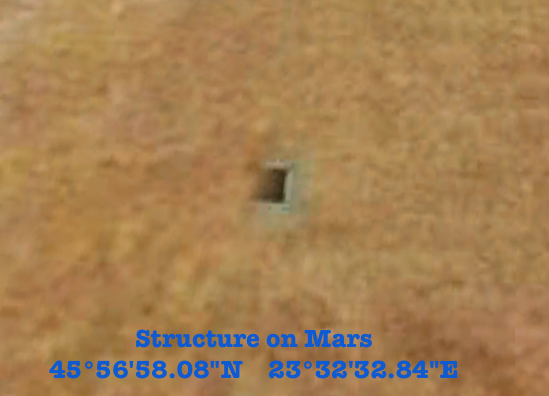 UFO SIGHTINGS DAILY: 160 Meter Structure Discovered On ...