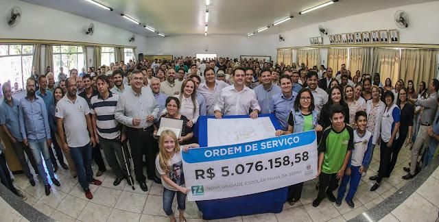 Mauá da Serra terá nova escola para 840 alunos