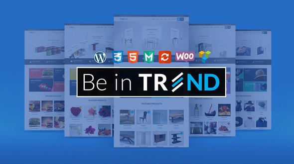 Download TREND Responsive WooCommerce WordPress Theme
