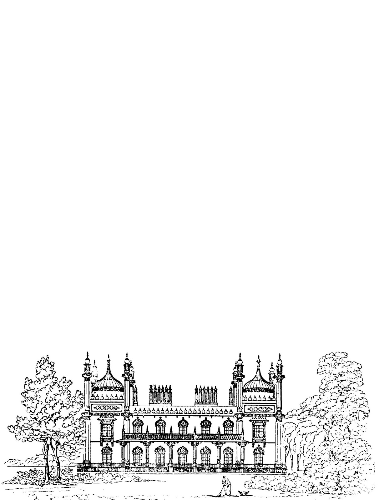 photograph relating to Free Printable Stationery Black and White titled Totally free Printable Stationery Sheet (Victorian Architectural