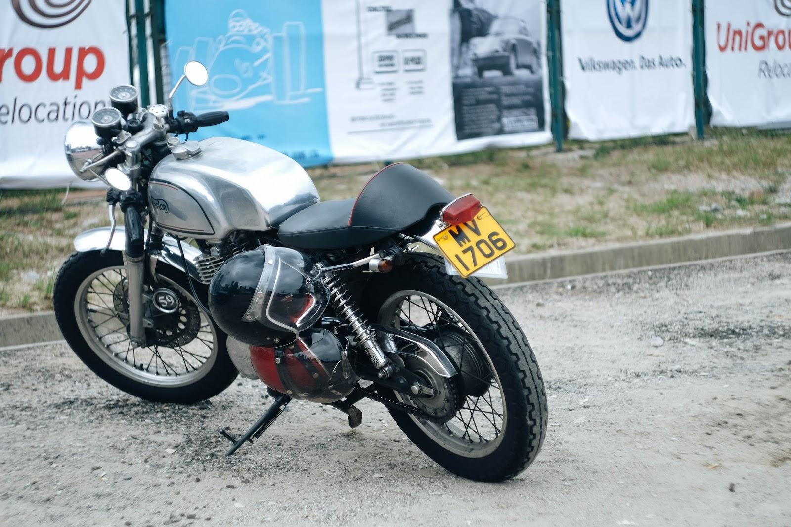 British Classic Motorbike Norton