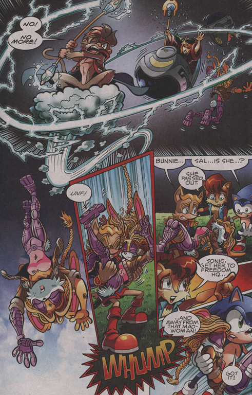 Read online Sonic The Hedgehog comic -  Issue #203 - 15