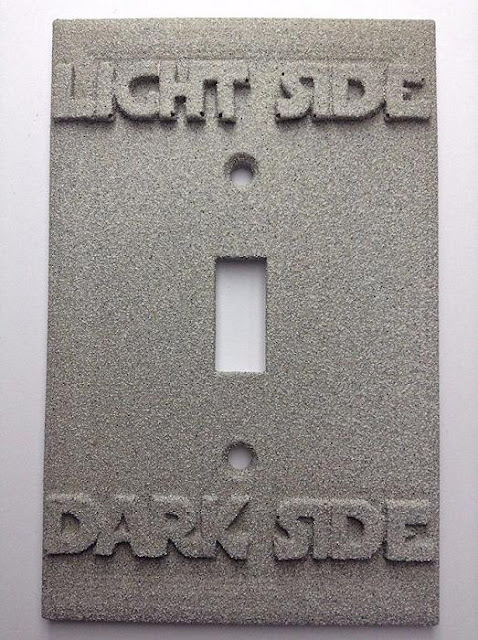 Starwars Light/Dark Side Light Switch Cover