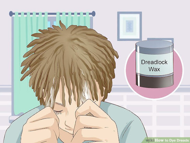 how to bleach and dye dreads
