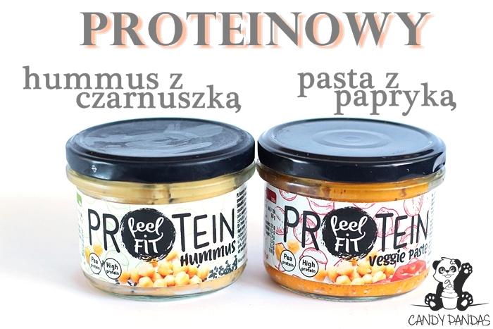 Proteinowy hummus i pasta z papryką – feel FIT
