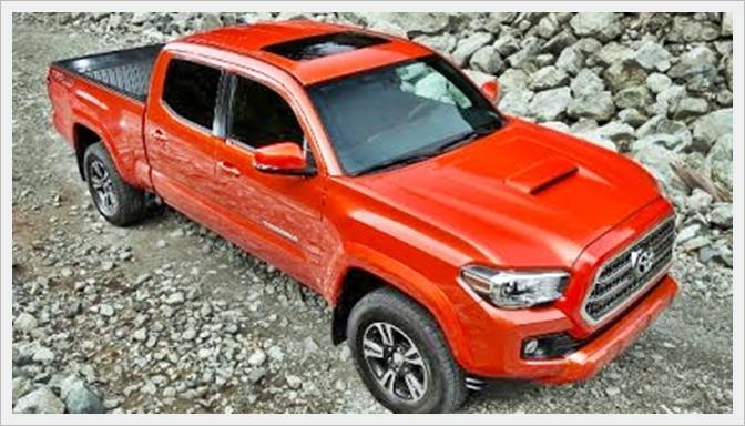 2017 Tacoma Trd Sport Price >> 2016 Toyota Tacoma Trd Sport Price Toyota Update Review