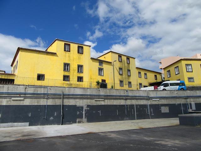 the old building of Madeira Wine in Largo Severiano Ferraz