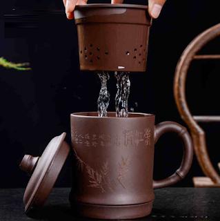 Yixing Clay Filtering Mug