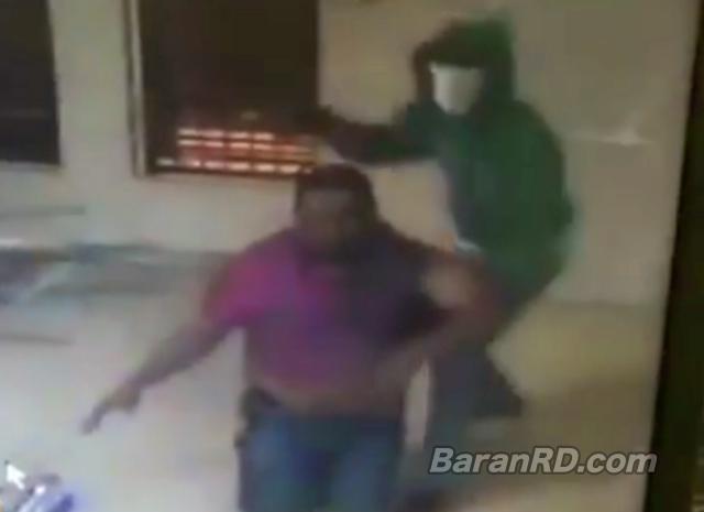 Video: Asaltan oficinas de Dominican Watchman en SFM