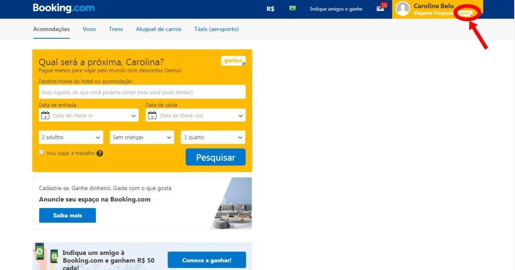 Booking.com reserva