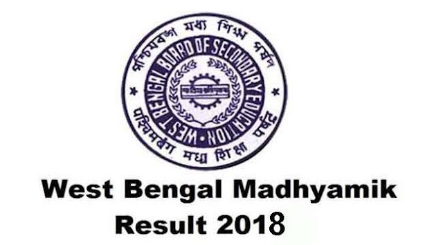 West Bengal Madhyamik Pariksha Class 10 Results 2018