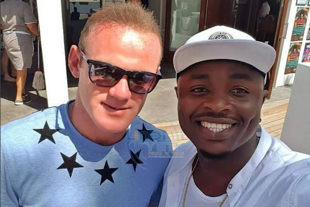 Ommy Dimpoz and Wayne Rooney