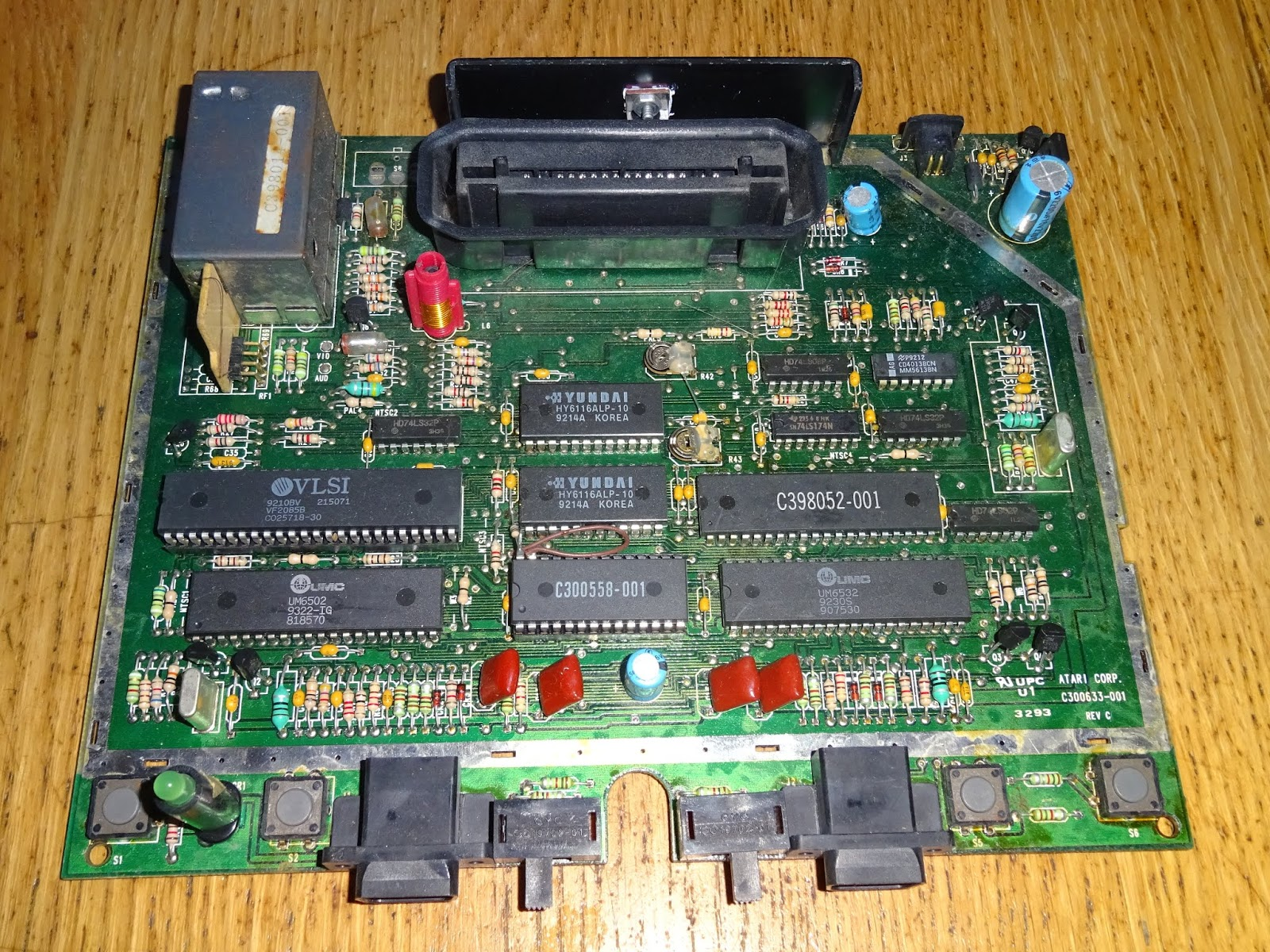 Tynemouth Software: Atari 7800 PAL AV out Composite Video Conversion
