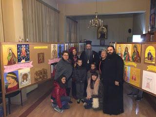 Ολοκληρώθηκε η παιδική έκθεση ζωγραφικής «Η Αγία Αικατερίνη, η πολιούχος της πόλης μας»