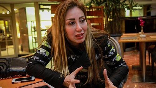 ريهام سعيد تصور مسلسل «ستات قادرة» بمنزلها في الجيزة
