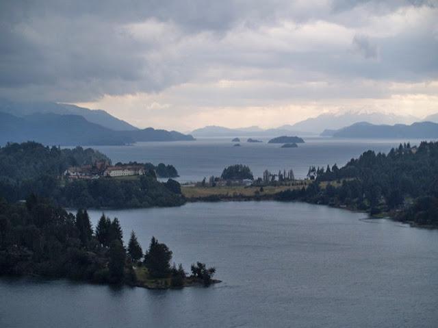 Pontos turísticos no Lago Moreno em Bariloche