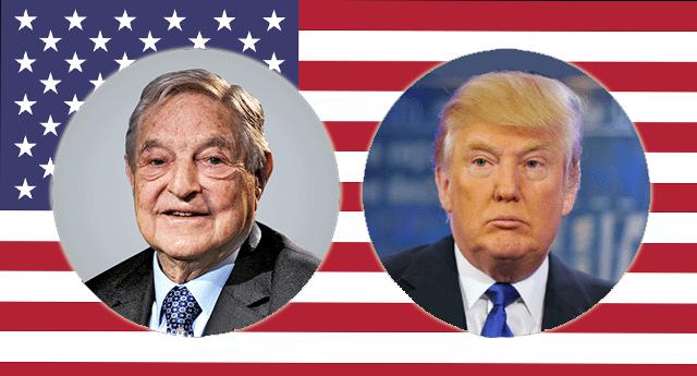 ¿Intenta George Soros defenestrar a Donald Trump?