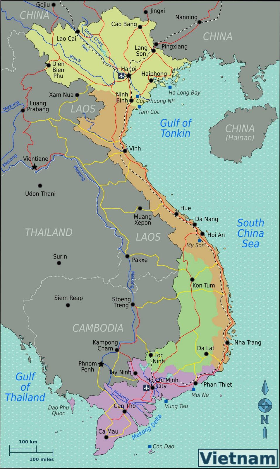 vietnam mapa Map of Vietnam vietnam mapa