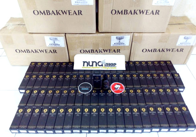 Ready Stock Ombak Beard Oil Penumbuh Jenggot Murah Dijamin Asli Dari Malaysia
