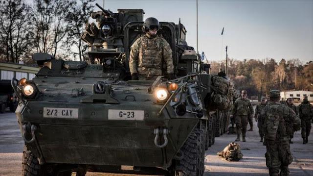 """EEUU envía militares a la frontera rusa por """"Atlantic Resolve"""""""