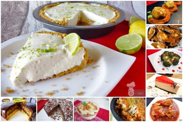 las recetas de cocina y postres más vistas del 2016